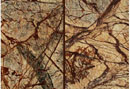 Forest Brown Marble Antique Finish